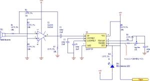 Gambar 2. Rangkaian Penerima Ultrasonik